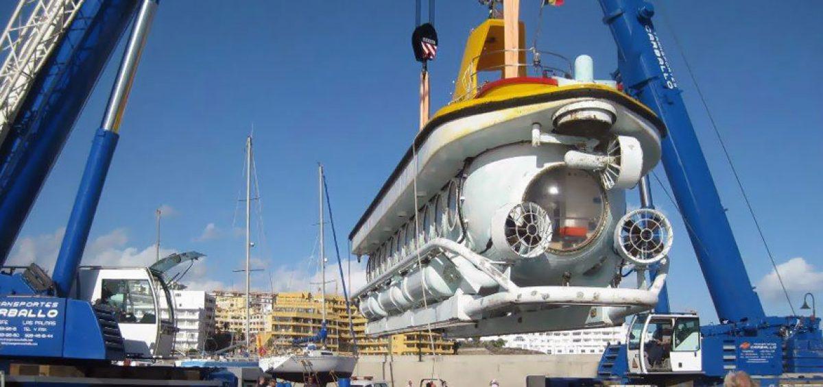 Izado de submarino