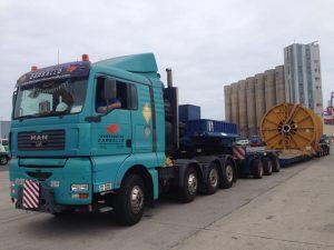 transportes modulares de mercancias