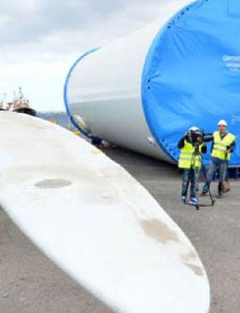 Aerogenerador Polígono Industrial Arinaga
