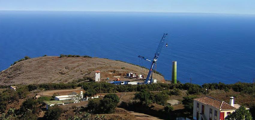 Instalación eólica Juan Adalid